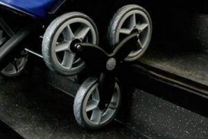 Carro compra 6 ruedas